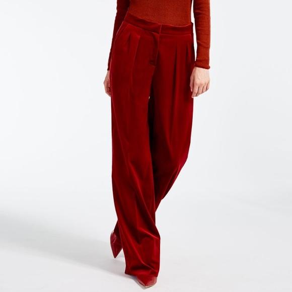 0042e63f6f45 MaxMara Pants | Max Mara Sfilata Velvet Trousers Us 6 | Poshmark